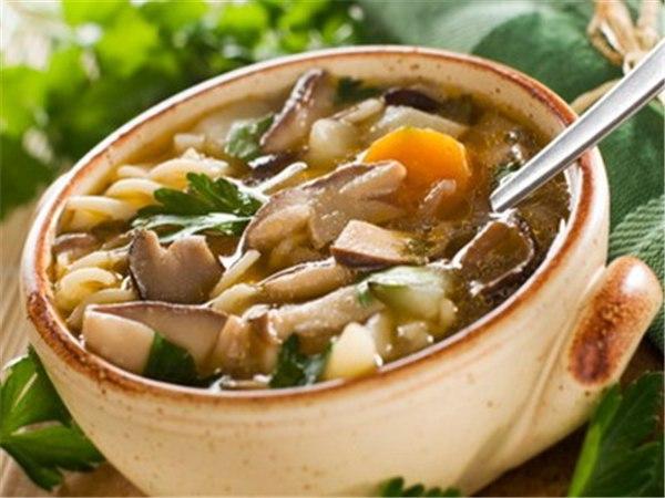 грибной суп из подберезовиков свежих грибов рецепт